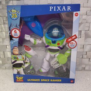Toy Story Buzz Lightyear Ultimate Space Ranger!